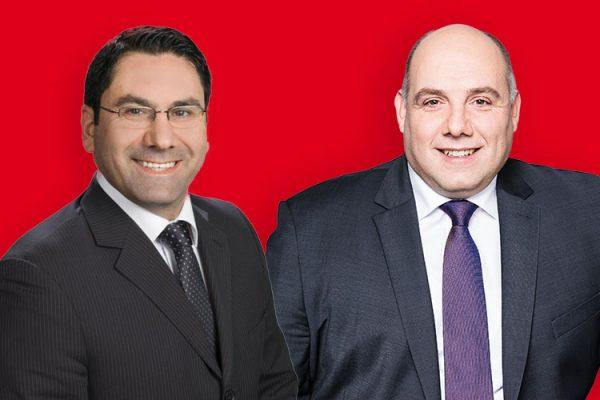 Fred Schüller und Cem Timirci