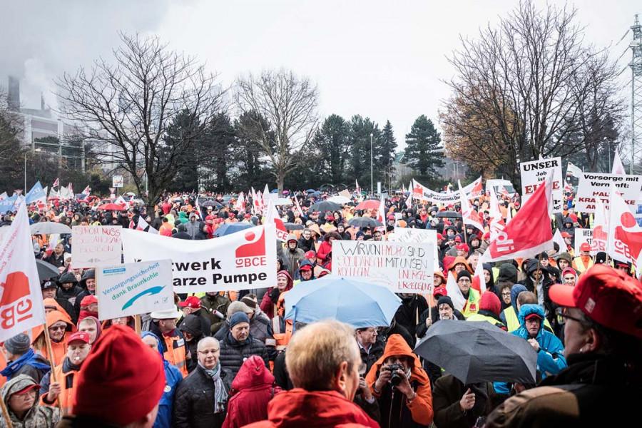 Solidarität mit den Beschäftigten im Rheinischen Revier