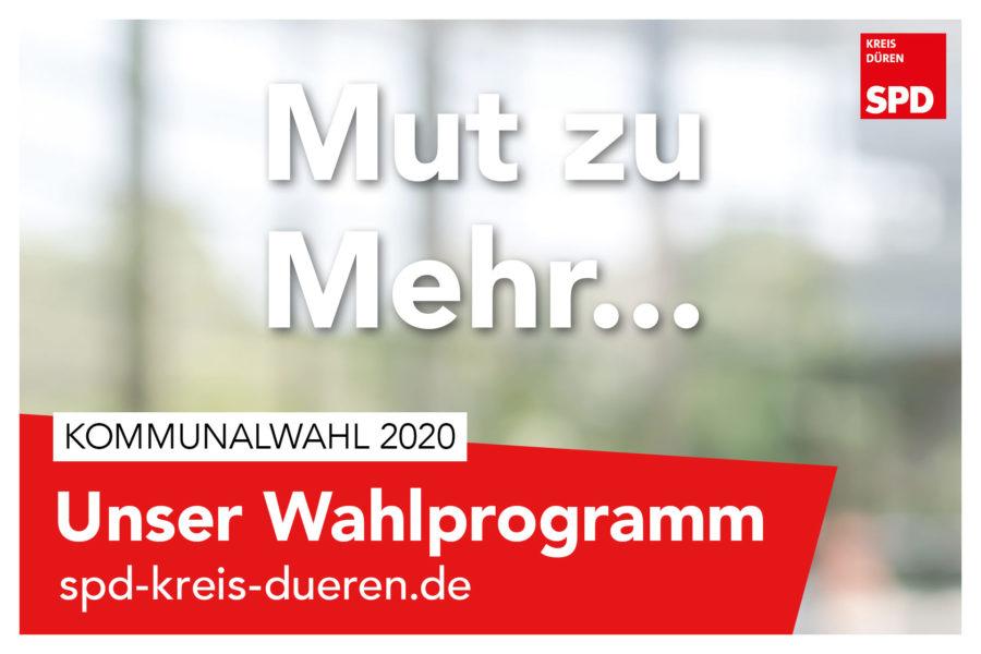 Wahlprogramm Kreis SPD Düren